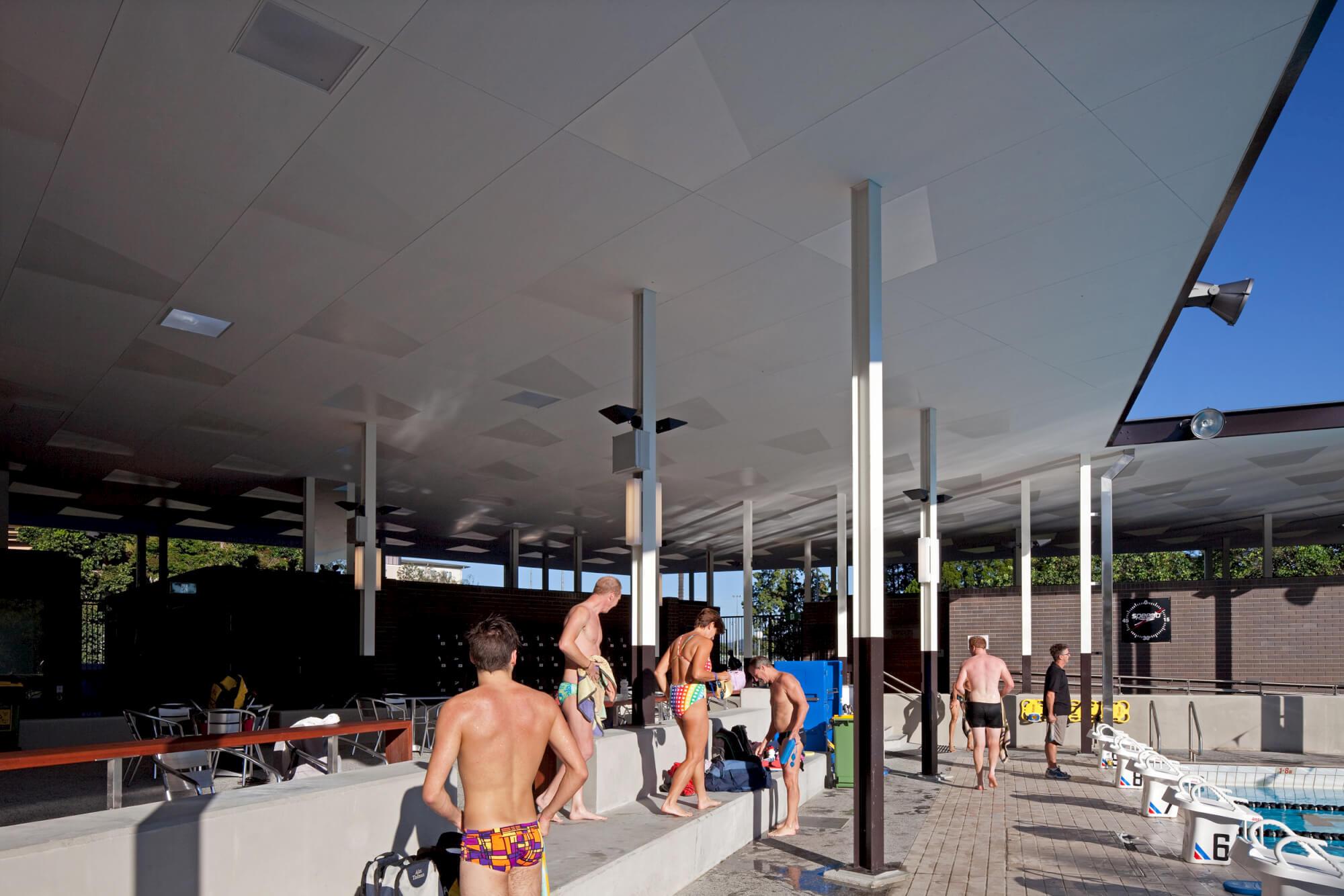 University Of Queensland Aquatic Centre David Theile